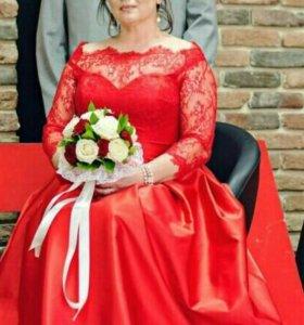 Свадебное ,вечернее платье