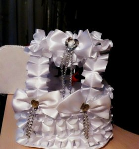 Подставка для свадебных бутылок