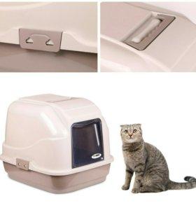 Туалет для кошек (закрытого типа)