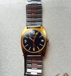 Часы командирские позолоченные