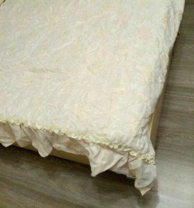 Комплект покрывало и две подушки