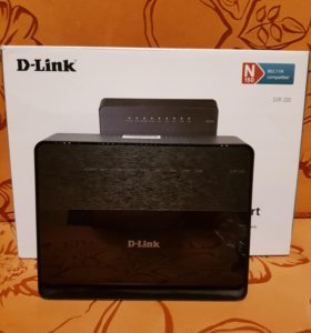 Роутер Wi-Fi (маршрутизатор) D-Link DIR-320