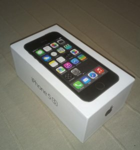 Коробка от iPhone 5s 64gb
