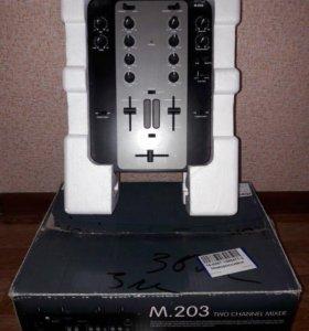 Микшерный пульт stanton M.203 продажа или обмен