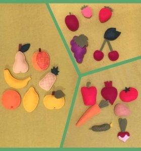 Магниты или игрушки из фетра