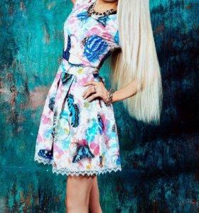 Новое платье с бабочками