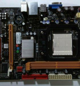 Материнка motherboard N68S