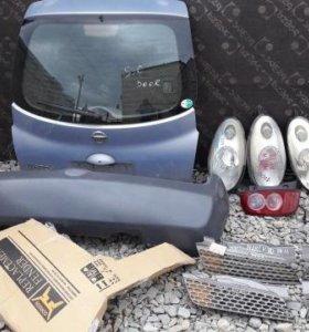 Nissan march micra K12 дверь 5Я