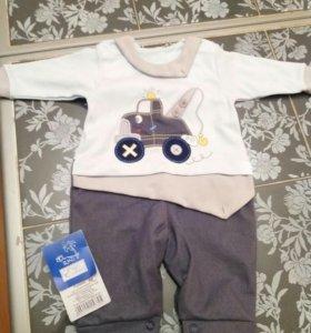 Детский костюм 56р Новый