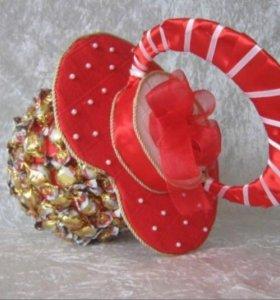 Подделки из конфет