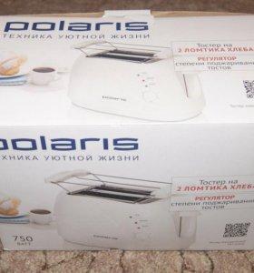 Тостер polaris новый
