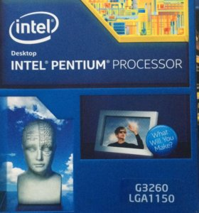 Intel g3260 процессор