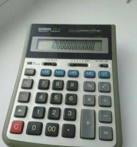 Калькулятор CASIO.