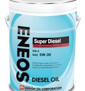 Масло Eneos Super Diesel CG-4 5W-30