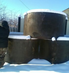 Кольца железо бетонные