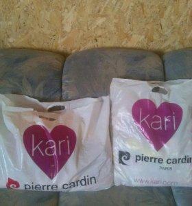 Два большых пакета вещей для малышки с рождения