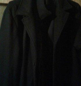 Пальто мужское драповое зимнее(демисезон)