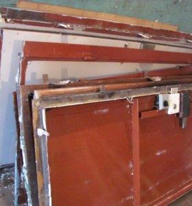 двери металлические фабричные