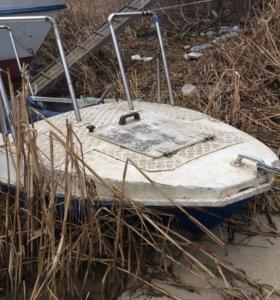 Моторная лодка «обь»