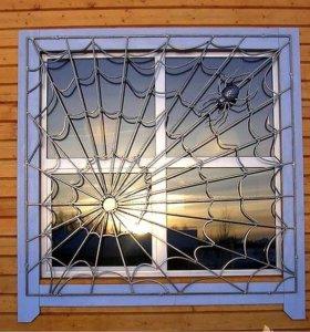Решетки на окна, оконные решётки