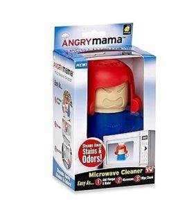 Новый Очиститель микроволновки Angry (злая) Mama