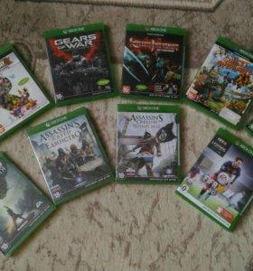 Диски для Xbox one. Продажа/обмен.