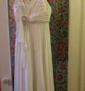 Белое платье 😍