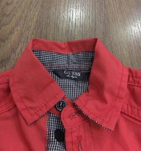 Джинсы, рубашка, летний костюмчик