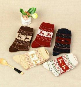 Носки новогодние подарки