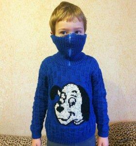 Вязка, свитер на мальчика