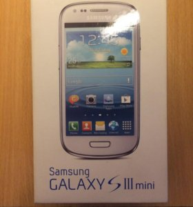 Samsung S3 mini white КОРОБКА