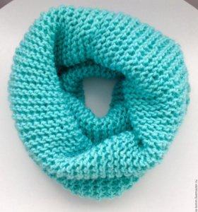 Шарф-снуд или шарф-труба