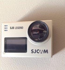 Новая экшн камера (4k) SJCAM j6 legend+селфи палка