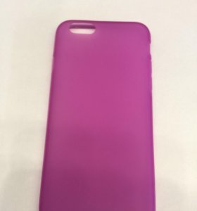 Чехол iPhone 6/6S розовый матовый