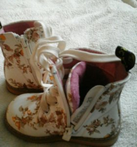 Ботинки для девочки, 21 размер
