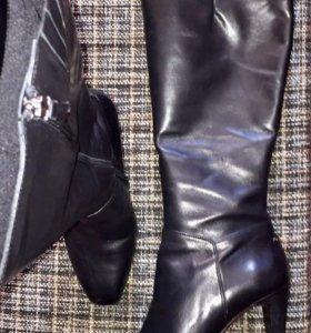 Сапоги кожаные Alla Pugacheva 39,5 размер