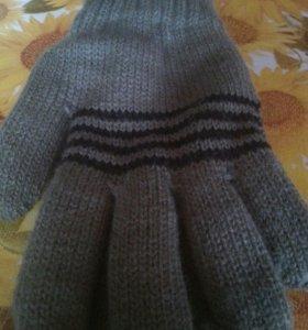 Перчатки двойнные