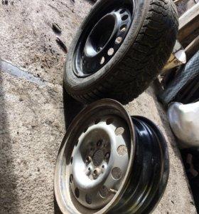 R14 одно колесо зимка