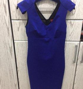 Офисные трикотажные платья