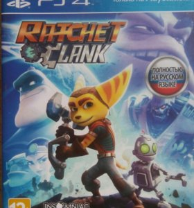 Обмен/ продажа PS4 Ratchet and Clank