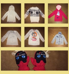 Детские кофты от 2-3 лет