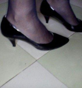 Туфли кожа р. 38