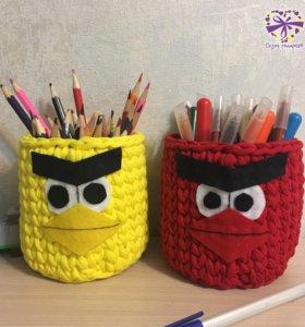 """Корзинки """"Angry Birds"""" 300 руб."""