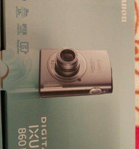 Цифровой фотоаппарат CANON digital IXUS 860 IS