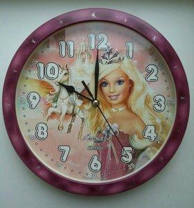 Часы с принцессой