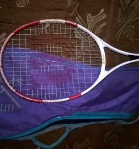 Ракетка теннисная с чехлом-сумкой