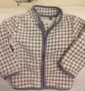Пиджак детский флисовый