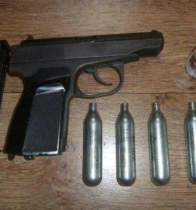 Пистолетик зажигалка