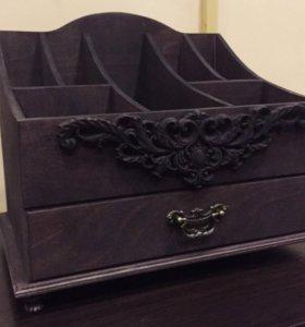 Комод для косметики органайзер подставка
