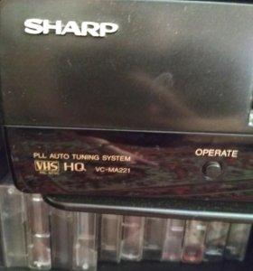 Видеомагнитофон sharp vc-ma221